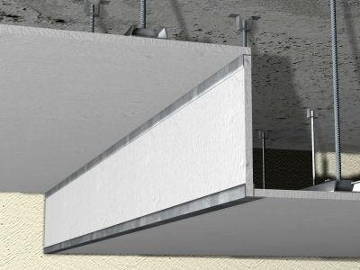 Precio en espa a de m de tabica para falso techo - Falso techo registrable ...