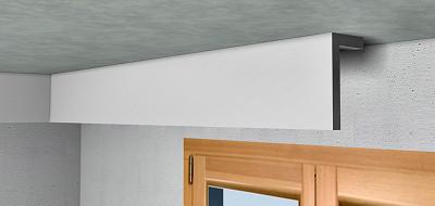 Precio en espa a de m de cortinero de escayola para decoraci n perimetral de techo generador - Cornisa para led ...