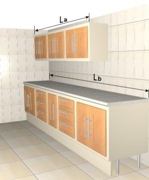 Precio en espa a de ud de amueblamiento de cocina for Amueblamiento de cocinas