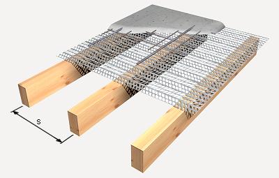 Precio en espa a de m de forjado de viguetas de madera y - Steel framing espana ...