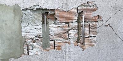 Precio en espa a de m de reparaci n de grieta en f brica for Grietas en paredes interiores