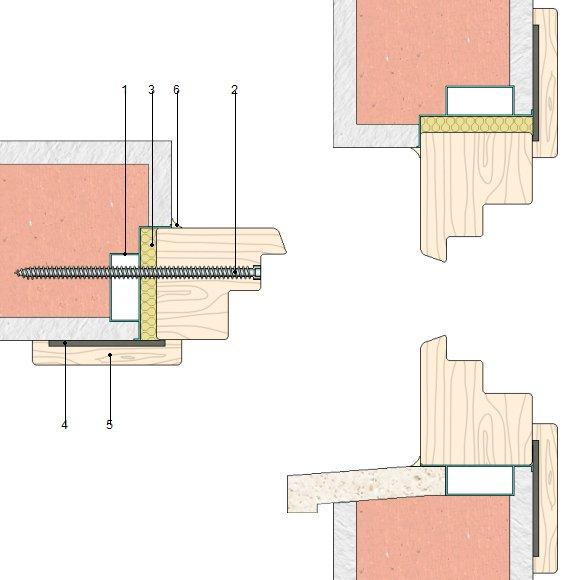 Precio en espa a de ud de carpinter a exterior de madera for Perfiles pvc para aberturas