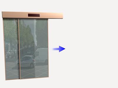 Precio en espa a de ud de puerta corredera autom tica de for Puerta corredera automatica vidrio