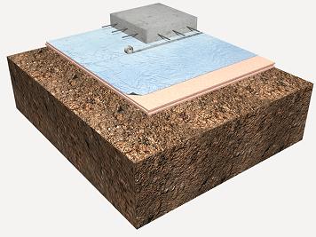Precio en espa a de m de aislamiento horizontal de for Aislamiento termico poliestireno extruido